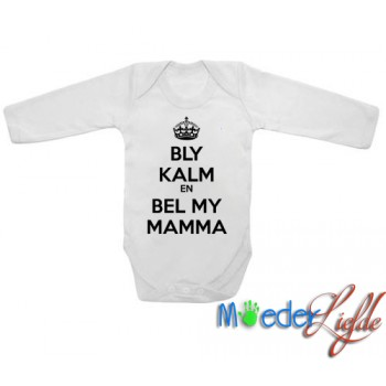 Bly Kalm en bel my Mamma